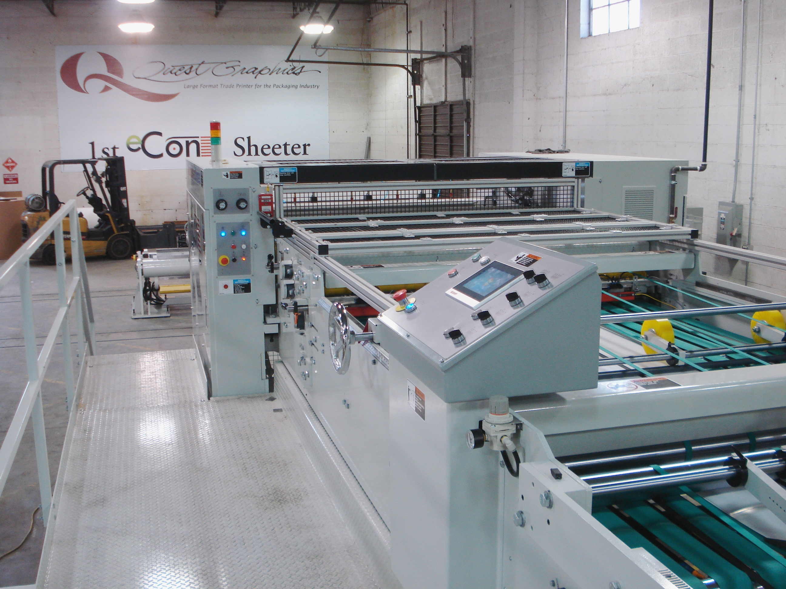 eCon Sheeter at Quest Graphics in St. Louis