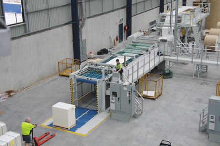 Sheeter facility