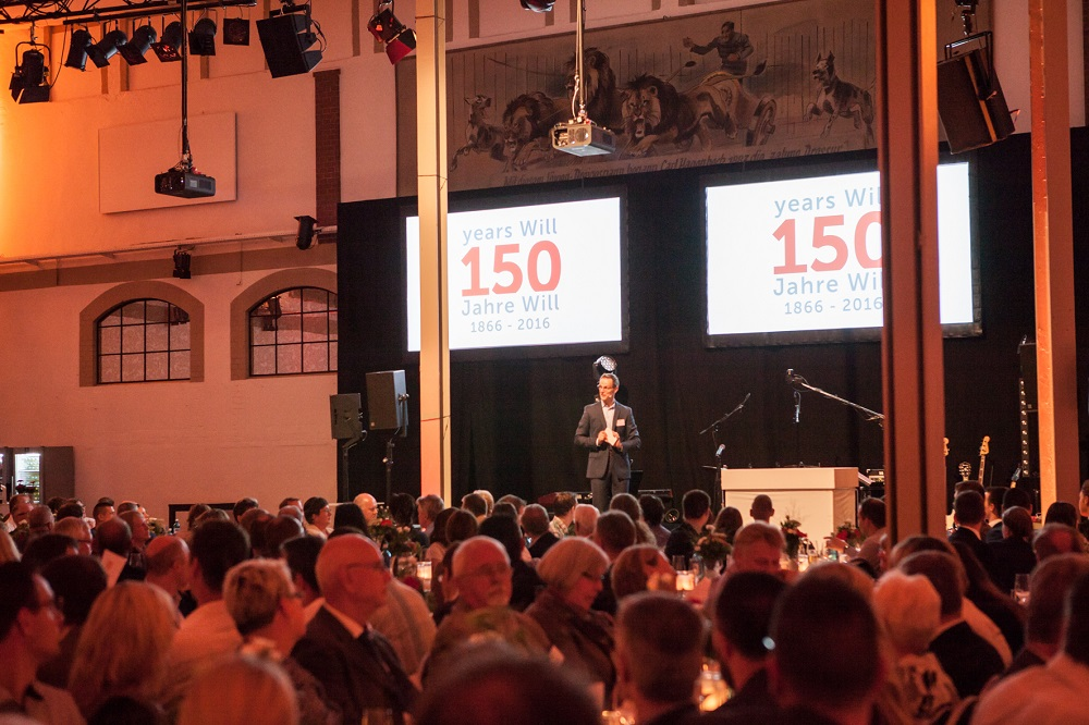Speech from Daniel Walk at 150 years Will party
