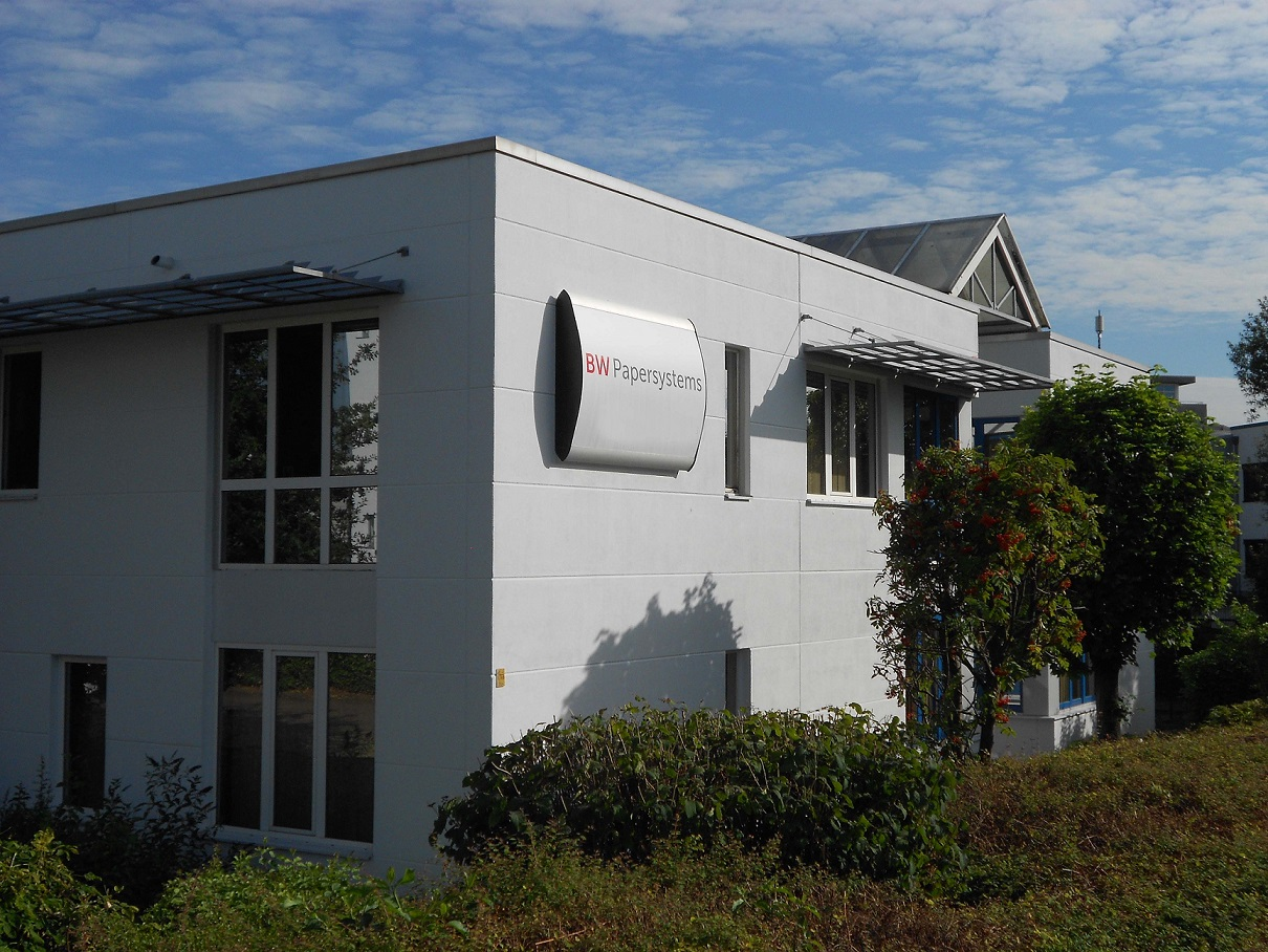 BW Papersystems location in Neuss