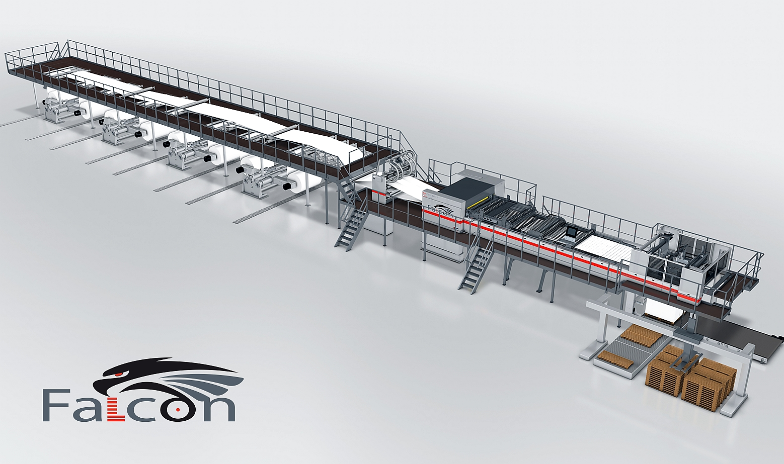 Highlight: New Falcon Folio Sheeter for Paper Mills